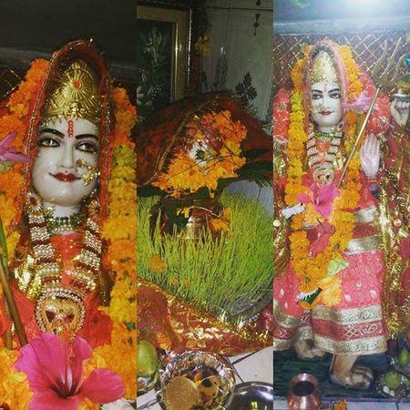 Shree Maa Gaura Devi..... Om Shree Gaura Devieyi Namah... Navratri Gaura Devi Divine Spiritual Shakti Power Devotion Maa Mother Shivashakti