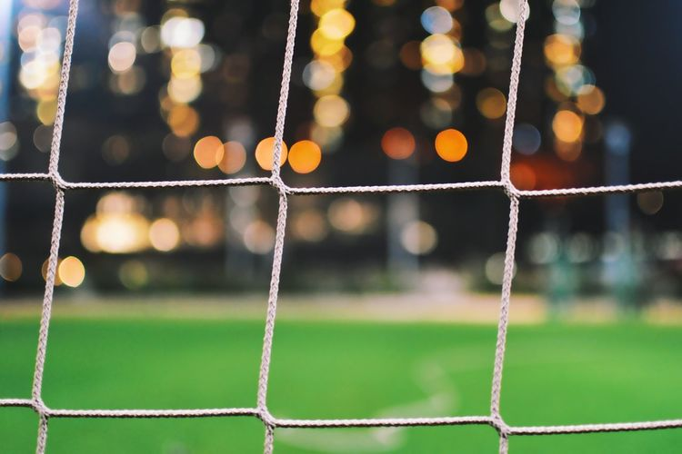 No People Grass Night Lifestyles Net - Sports Equipment Sport Soccer Soccer Field Playing Field Competitive Sport Soccer Goal Competition Outdoors Hkphotography Hongkongphotography Be. Ready.