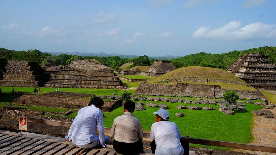 Adult Agriculture Ancient Civilization Architecture Cultures Day EyeEmNewHere Landscape Men Mexico Nature Outdoors Paisaje People Pyramid Real People Rural Scene Sky Tajin Village Women Working