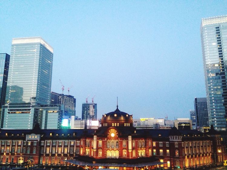 Tokyo Train Station Tokyo Station Sunset Building The Graphic City