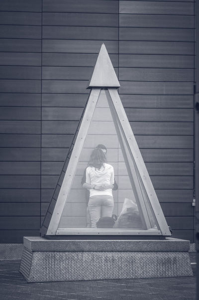 First Love Pyramid Architecture Blackandwhite Built Structure Campobasso Cute First Lover Full Length Glass Glass Pyramid Outdoors People Real People Stolenshot Streetphoto_bw Streetphotography Sweet Sweetheart Teenager Young Adult Younger Stories From The City
