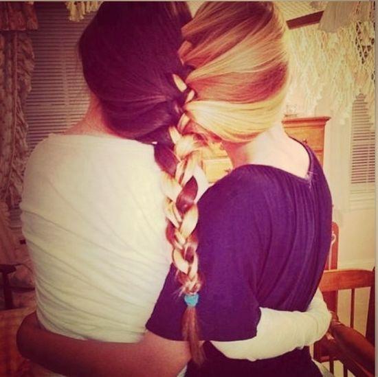 Every Brunette Needs A Blonde Bestfriend