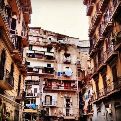 Street view from Napoli Italia Italy Ig_italy Insta_international Insta_europe