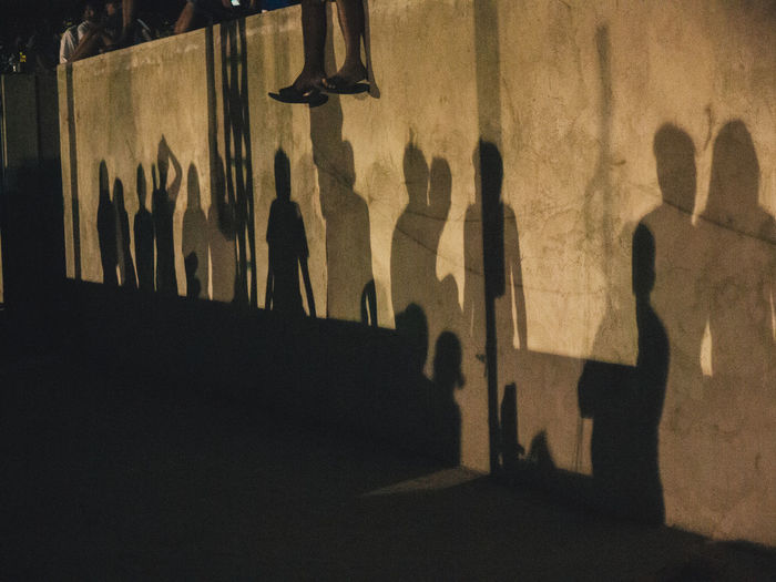 Shadow spectators Backgrounds Textured  Shadow Outdoors Olympus OLYMPUS PEN E-P3 The Photojournalist - 2017 EyeEm Awards Out Of The Box Eyeem Philippines