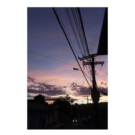 Sunset Sky Urban Skyline