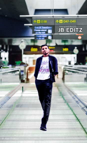Hello Full Length Well-dressed Portrait Business Front View Standing Casual Clothing Architecture Hands In Pockets Business Travel Airport Departure Area Airport Terminal Moving Walkway  Airport Arrival Departure Board First Eyeem Photo