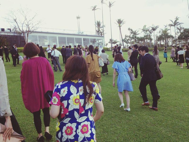 Wedding party @東南植物楽園 東南植物楽園 OKINAWA, JAPAN