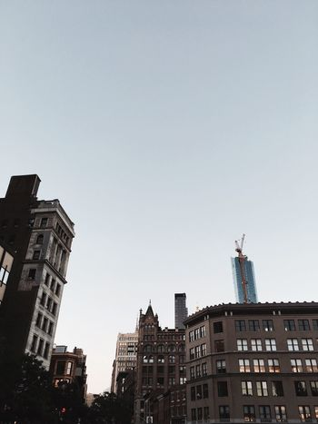 Building Exterior Architecture Built Structure City Low Angle View No People Clear Sky Outdoors Modern Day Skyscraper Sky Cityscape EyeEmNewHere First Eyeem Photo Vscocam VSCO NY USAtrip USA Photos USA Building Story Cityscape EyeEmNewHere