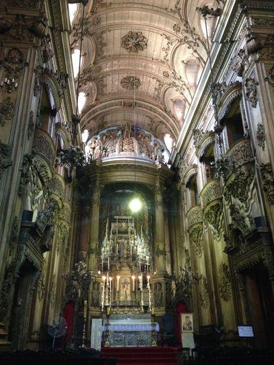 Igreja Do Santíssimo Sacramento Da Antiga Sé Centro Rio De Janeiro Brazil Church Igreja Faith EyeEm Rio
