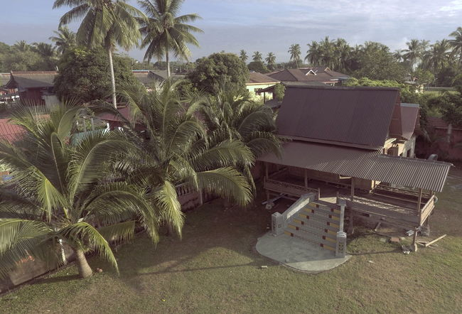 Architecture Day House Kampung Kampung House Nature No People Palm Tree Sky Tree Village Photography