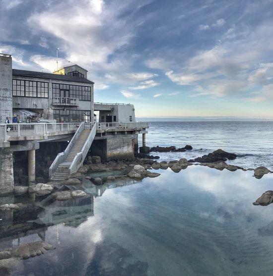 Sea Water Cloud - Sky Tranquil Scene Architecture