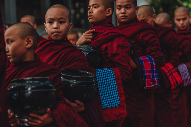Young monks of