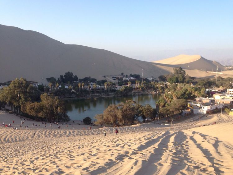 Lifestyles Huacachina Peru Best  Moments Sand Mountain Clear Sky