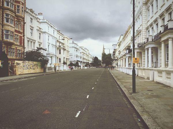 London Empty Empty Street No People Calm Grey Sky City Outdoors Day Calm EyeEmNewHere