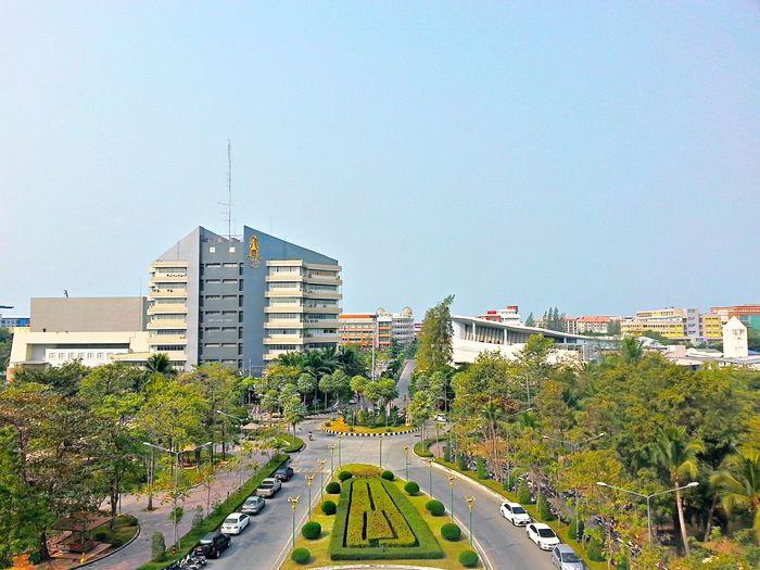 这个照片是东方大学。