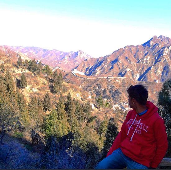Thegreatwall China Beijing Wanderlust Mountains Wall Success Blessed  Winter