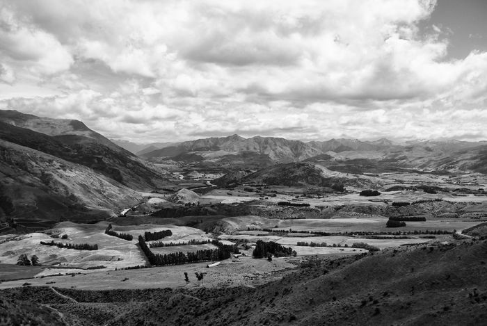 B&w Beauty In Nature Black And White Day Depth Of Field Detail EyeEm EyeEm Best Shots EyeEm Gallery Landscape Mountain Mountain Range Nature Nature New Zealand New Zealand Beauty New Zealand Scenery No People Outdoors Queenstown Scenics Sky South Island Tranquility Traveling