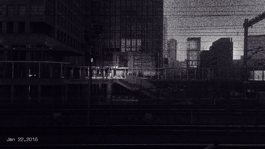 Jan 22,2016 TODAY'S MY WALLPAPER My Wallpaper Of Today Blackandwhite Monochrome_life Monochrome Light And Shadow Fromthetrain