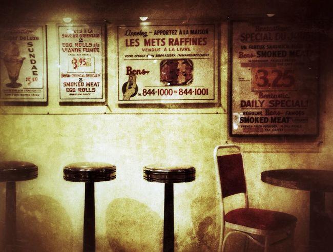 Ben's Restaurant Signs remind us of NEM Memories at the Musée McCord in Montréal