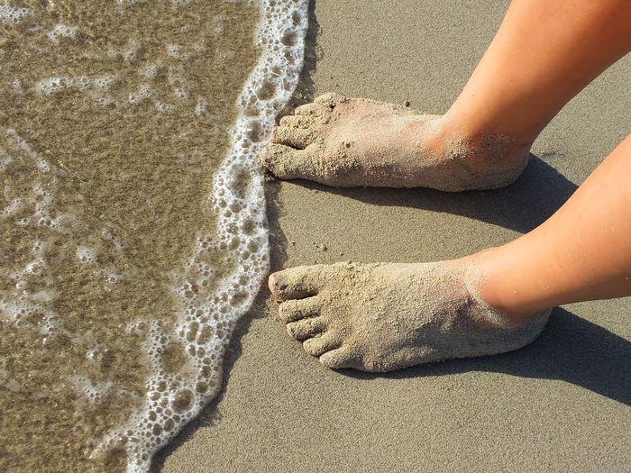 Alone Beach Coast Feetselfie Outdoors Innocence Lather Legs Moment Sand Sand And Sea Sandfeet Sandy Feet Sea Standing Suds Vacations Waiting Water Feet Sommergefühle Summer Exploratorium