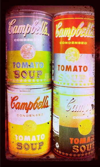 Tomato Soup - Warhol at Target