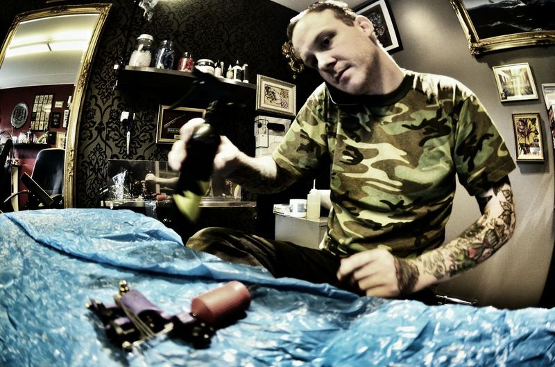 Ouch my poor head! Tattoo Head Tattoo Getting Inked Partille