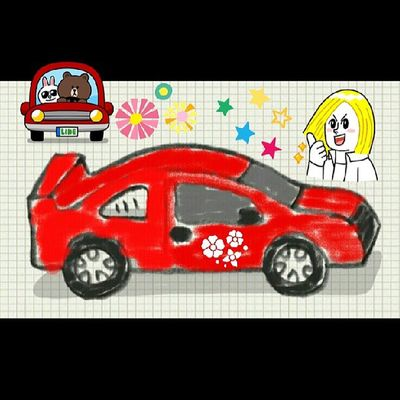Day26 Junephotochallenges : dream car... red car..soon, I hope :D Alfanova Artbywne wnegalnote2