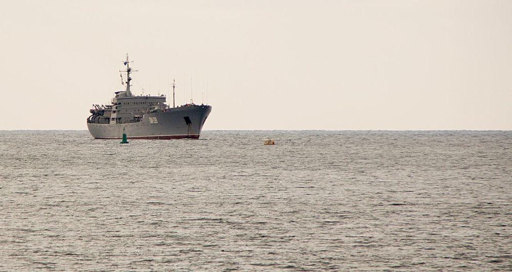 Ship корабль Navy Balaklava Балаклава Море небо