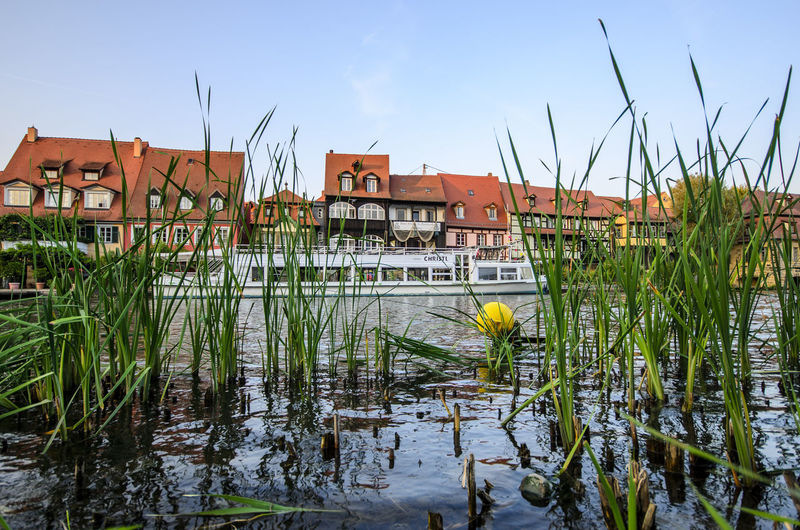Architecture Building Building Exterior Built Structure Day Growth House Lake Land Nature No People Outdoors Plant Reflection Residential District Sky Water Waterfront