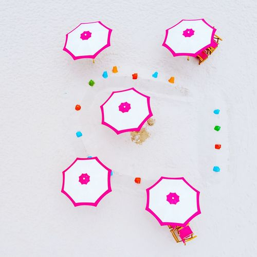 Candy Colourful Beach Umbrellas Beach Umbrella Miami Miami Beach Miami, FL Aerial View Aerial Drone  Dronephotography Multi Colored Science Inspiration Smiling Variation Aircraft Wing Rainbow Speech Bubble Heart Shape Aircraft Valentine Day - Holiday I Love You