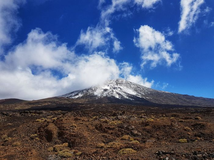 mount teide in