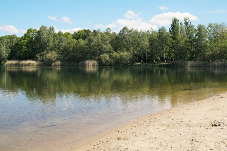 Lake Spring Summer No People Bathing Lake Nature Outdoors Local Recreation Landscape Beach Sandy Beach Empty