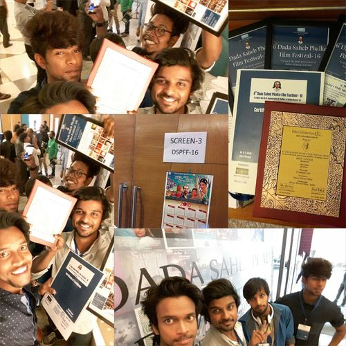 finally won dada saheb phalke award Hapiness Can Be Seen In Our Eyes Selfy Won Hapiness Cant Be Sold Or Buy Not For Sale Moments Making Memories With Frds Atmospheric Mood One Idea Hocus Focus Films director - preetham dev