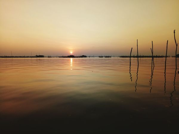 koh yor island EyeEm Selects Sunset Water Reflection Tranquility Sea Nature Scenics