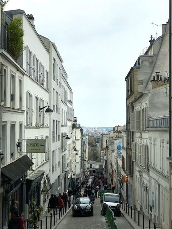 Paris Montmartre Building Exterior City Architecture Motor Vehicle Sky Car Adventures In The City Mode Of Transportation Street City Street City Life