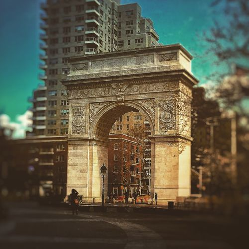 Washington Square Park Architecture Built Structure Travel Destinations Arch City City Life New York