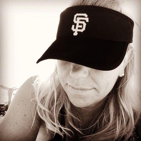 I love baseball Sanfransisco Let's Go #SFGiants! Selfportrait