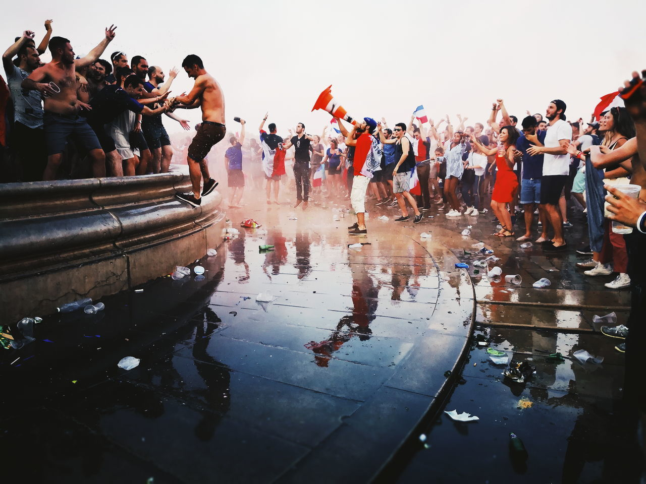 Bordeaux,  Celebrating,  City,  Crowd,  Dance