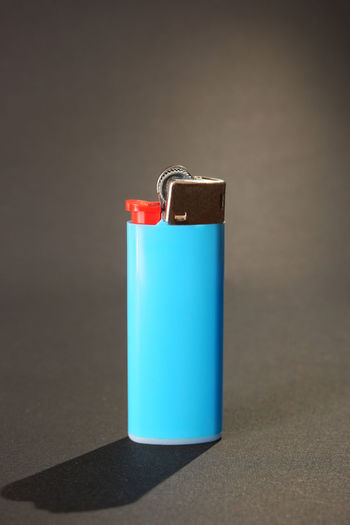 Lighter Black Background Blue Light Blue Light Blue And Green Eyes Lighter Single Object Still Life Studio Shot