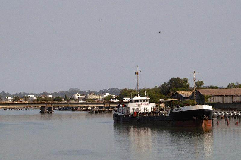 Ziguinchor Senegal Casamance River Harbour West Africa Ziguinchor Africa Boats Casamance Day Nautical Vessel Outdoors Senegal Water