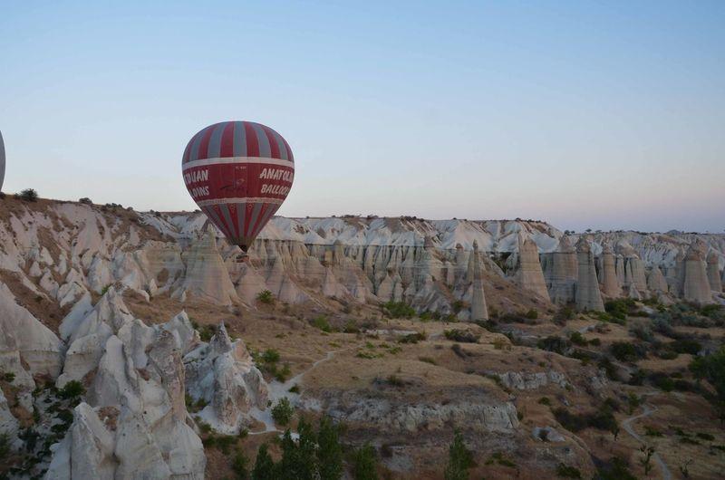 Baloons Cappadocia Cappadocia Ballon Cappadocia Hot Air Ballons Cappadocia/Turkey Eroded Mountain Physical Geography Rock Formation Tourism Tranquil Scene Tranquility Travel Destinations Turkey