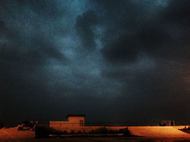Built Structure Sky Building Exterior Outdoors Cloud - Sky Nature Beauty In Nature No People Star - Space Water Astronomy Illuminated Architecture Cityscape Scenics City Night Karachi EyeEm Personal Perspective Directly Above