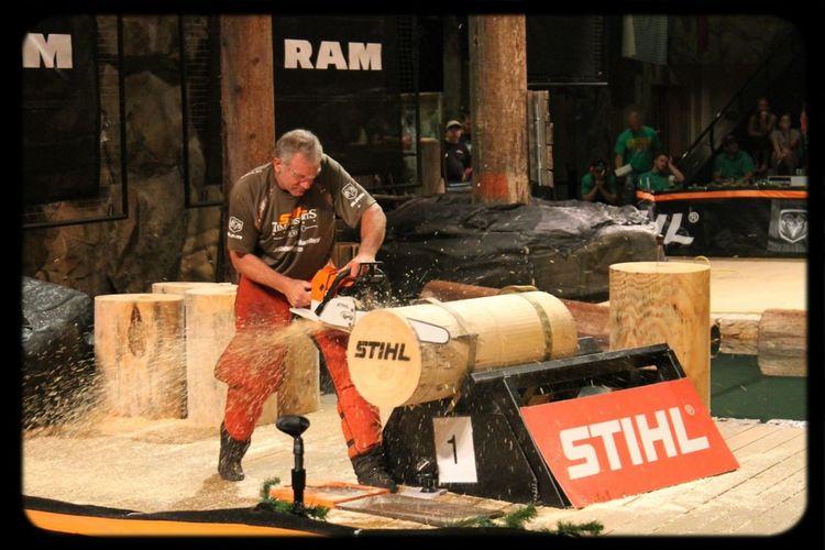 Chainsawporn Stihltimbersports
