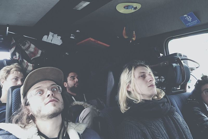 Tour Bus Starting A Trip Birdy Hunt Rock'n'Roll On The Road