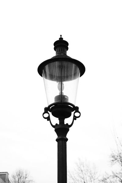 Black Blackandwhite Day Gas Light Lighting Equipment Low Angle View Nature No People Outdoors Sky Street Streetlight Streetphotography Technology