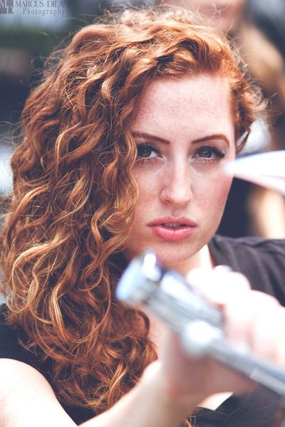 Fiery Stare from the girl with red hair BikerGirl Model Modeling Photoshoot Woman Portrait Of A Woman Beautiful Beautiful Girl Color Portrait