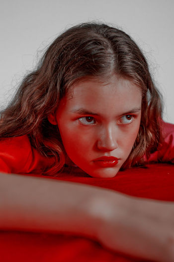 Red is Bad #1 Devil The Week on EyeEm TheWeekOnEyeEM Anger Contemplation Demon Demon Eyes Depression - Sadness Devil Eyes Devil Inside Females Human Face Neon Demon Portrait Real People Red Color Red Light Red Lips Red Lipstick Serious Women The Week On EyeEm Editor's Picks