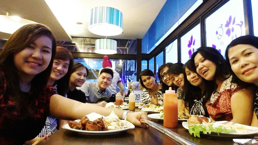 Everyday Joy Eating Beautiful Day :)with my friend's ????