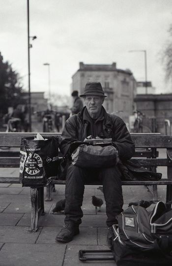 Bristol, Homeless, Homeless Man, Gentlemen