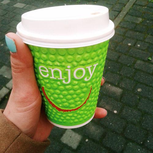 Enjoy ✌ Coffee Time Startoftheday